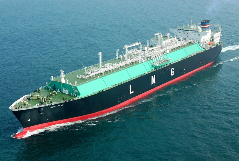 MOL Signs Deal for Long-term Charter Contract of LNG Bunkering Vessel with Singapore's State Energy Company Pavilion Gas