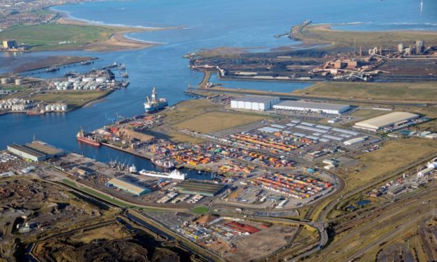 Second Teesport rail link provides further trade connection for Scotland