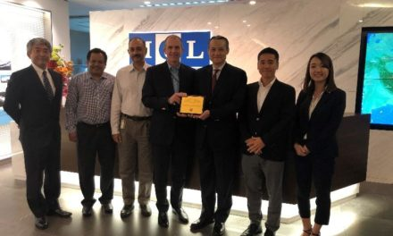 MOL Tank Asia Honored by U.S. Oil Major Chevron : Reflects High Regard for United Efforts by Crewmembers at Sea,  Land-based Employees to Ensure Safe Transport