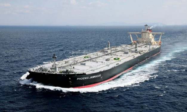 """Delivery of Very Large Crude Carrier """"PHOENIX JAMNAGAR"""""""