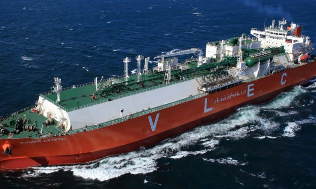 MOL co-own world 6 largest Liquified Ethan Carrier with Reliance -As Japanese ship owner, it is first ever to own VLEC
