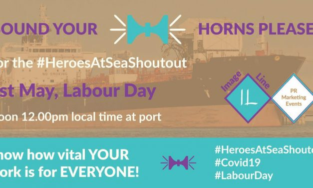 """The unsung heroes of global trade"" – Ships sound their horns in support of seafarers on Labour Day"