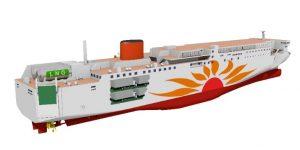 MOL LNG ship image 2