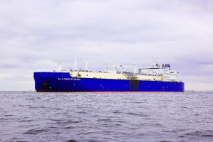 Vladimir Rusanov call at Ohgishima LNG terminal