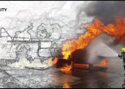 MaritimeMT & ISTC fire simulation image 1