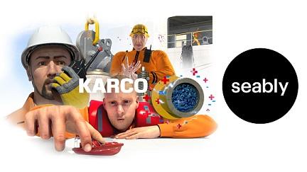 KARCO course frame