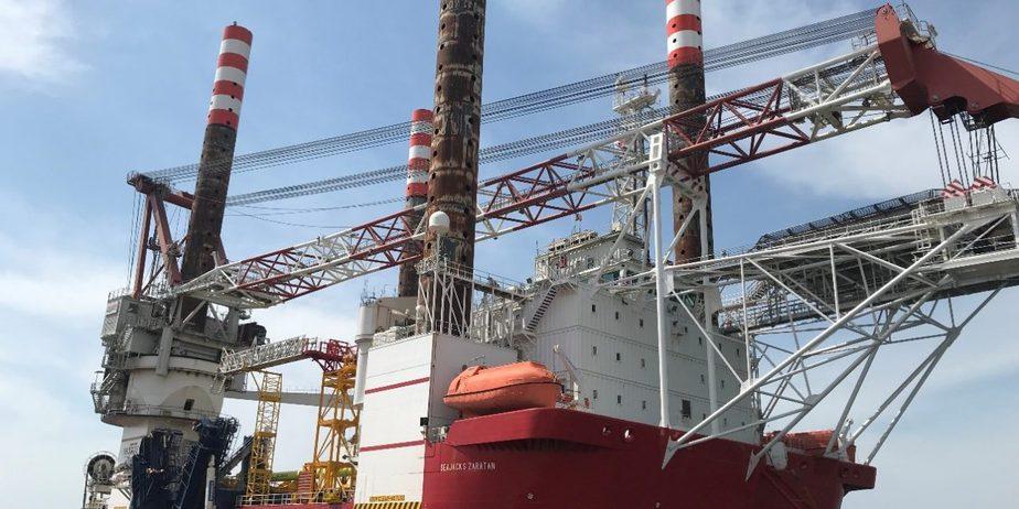 SEP Vessel Seajacks Zaratan Starts Foundation Work on Akita/Noshiro Wind Farm